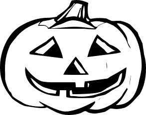 Halloween  black and white halloween clip art black and white free clipart
