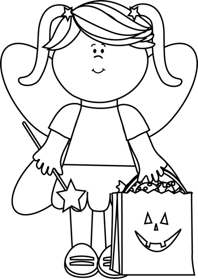 Halloween  black and white halloween clip art images 4