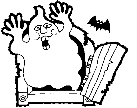 Halloween  black and white halloween clipart black and white free 2