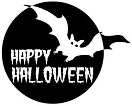 Halloween  black and white happy halloween clip art black and white free 4
