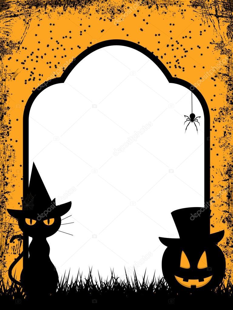 Halloween border background elaineitalia