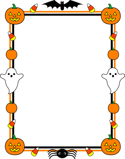 Halloween border clipart free images 2
