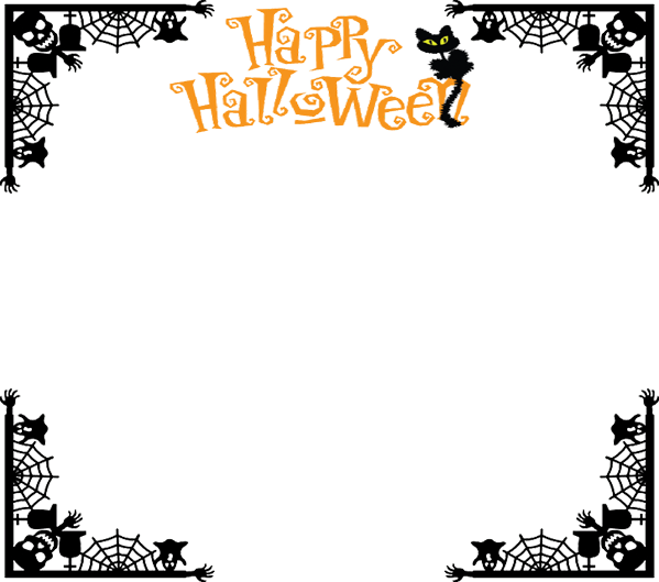 Halloween border frame by metalocalypse on deviantart