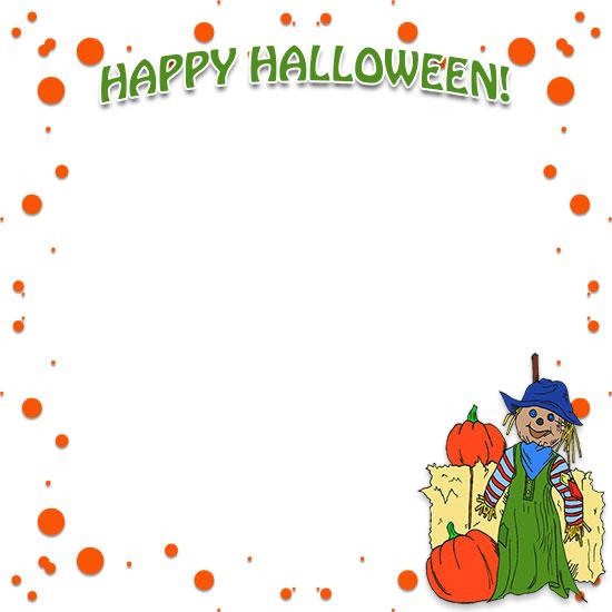 Halloween border halloween festival borders clipart
