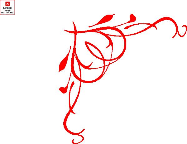 Heart border clip art at vector clip art
