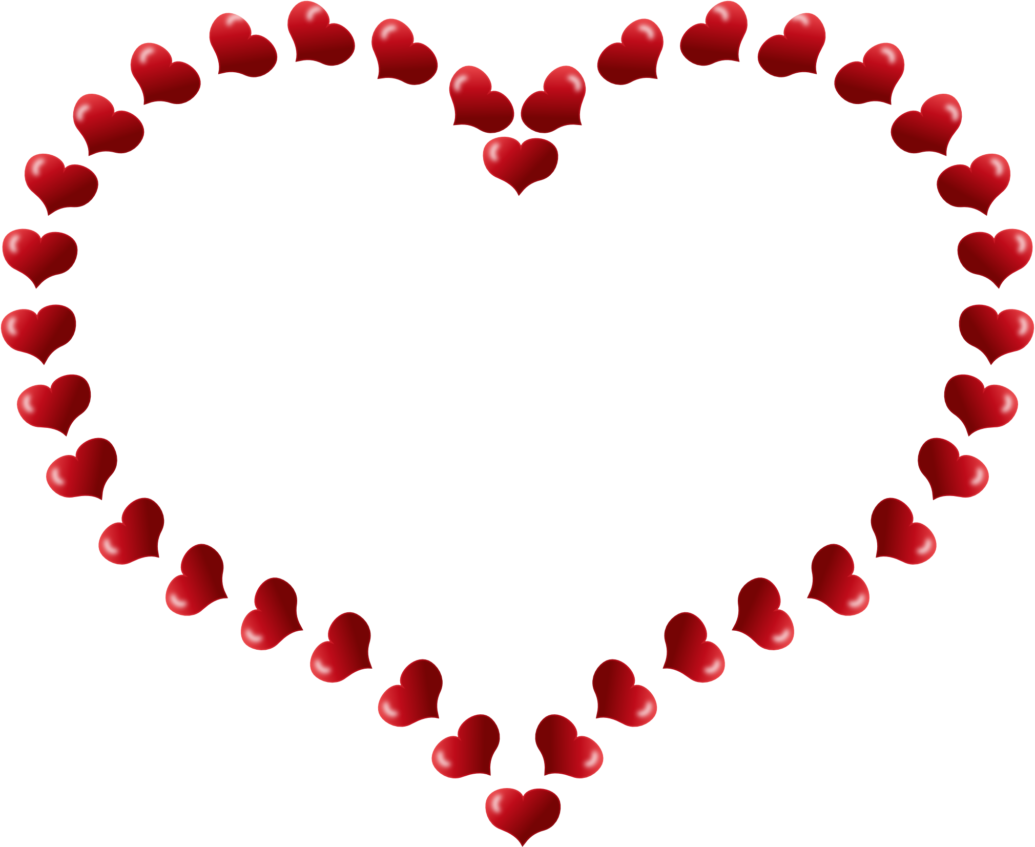 Heart border clip art free clipart images 2