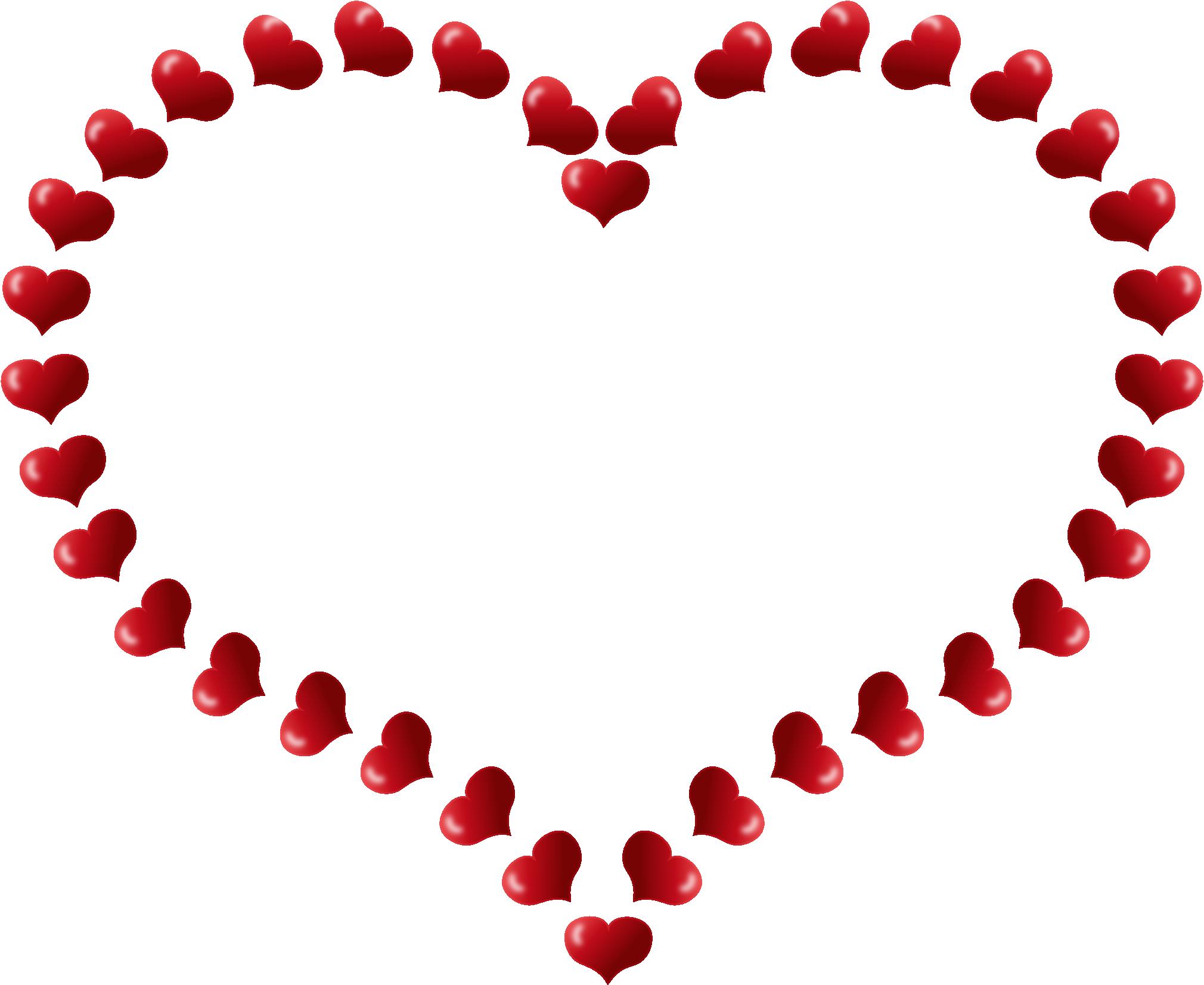 Heart border clip art free clipart images 2