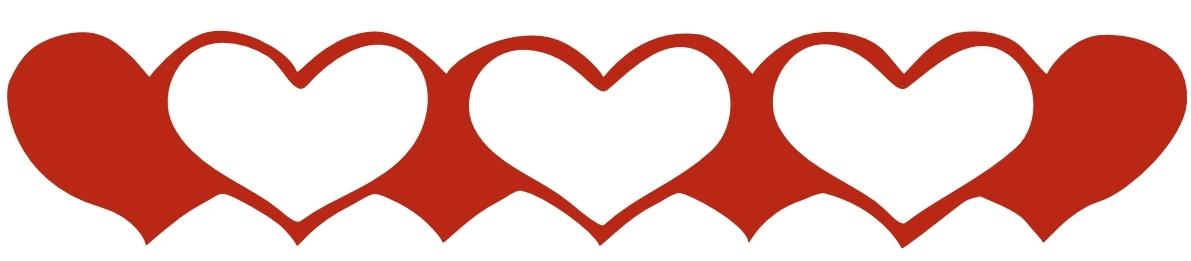Heart border clipart savoronmorehead
