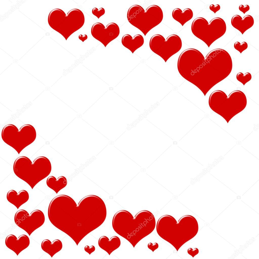 Heart border karenr 5