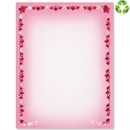 Heart border papers paperdirect