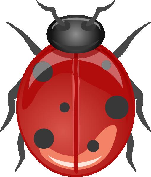 Ladybug clip art free vector 4vector