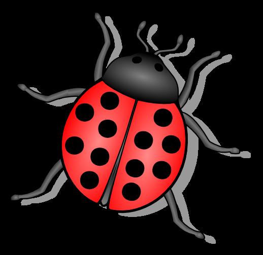 Ladybug free to use clipart 2