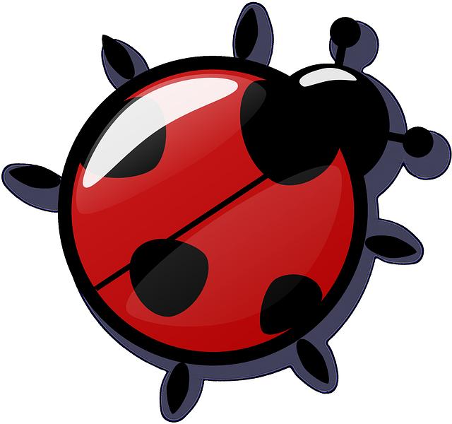 Ladybug free to use clipart 4