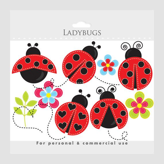 Ladybug images about lady bugs on nursery art love clip art