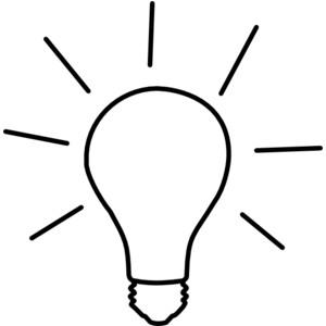 Light bulb christmas lightbulb clipart free images