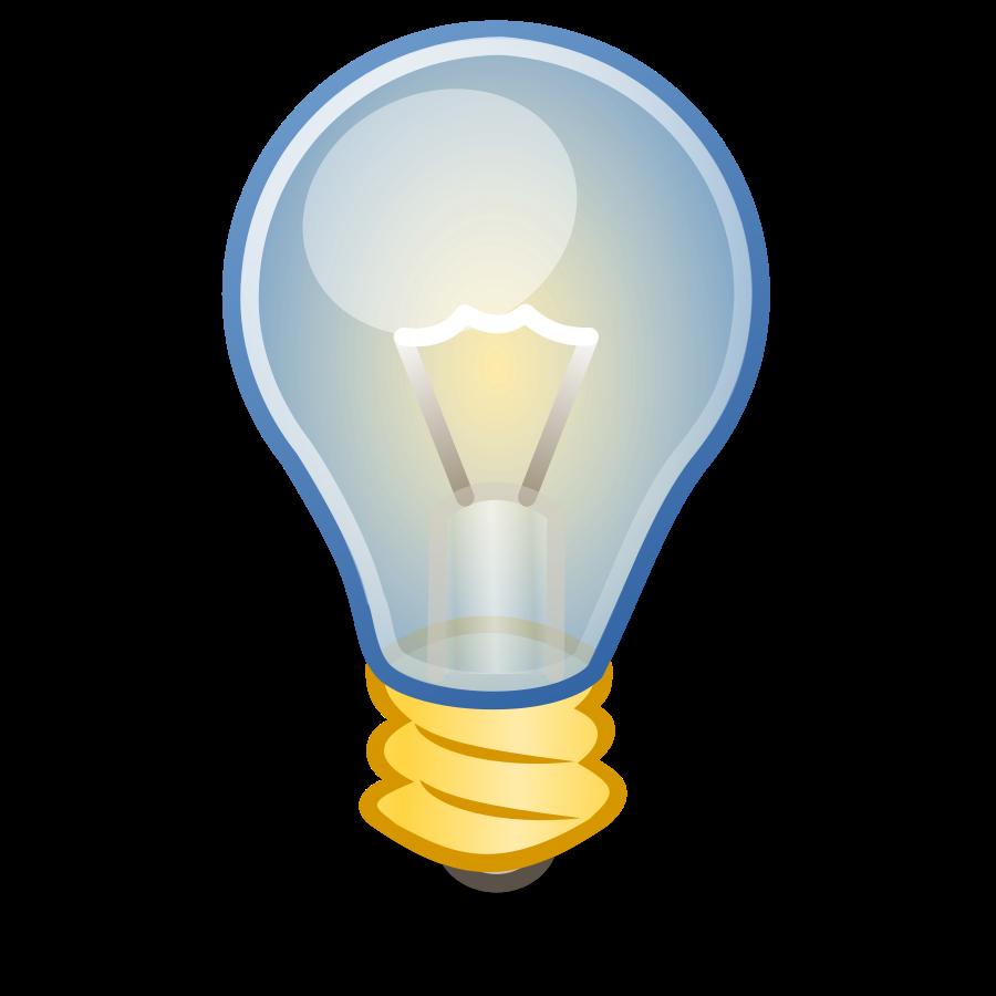 Light bulb clip art 2 image 8