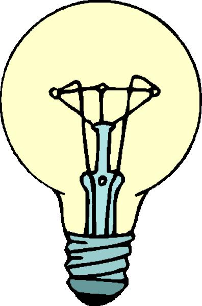 Light bulb clip art for kids free clipart images