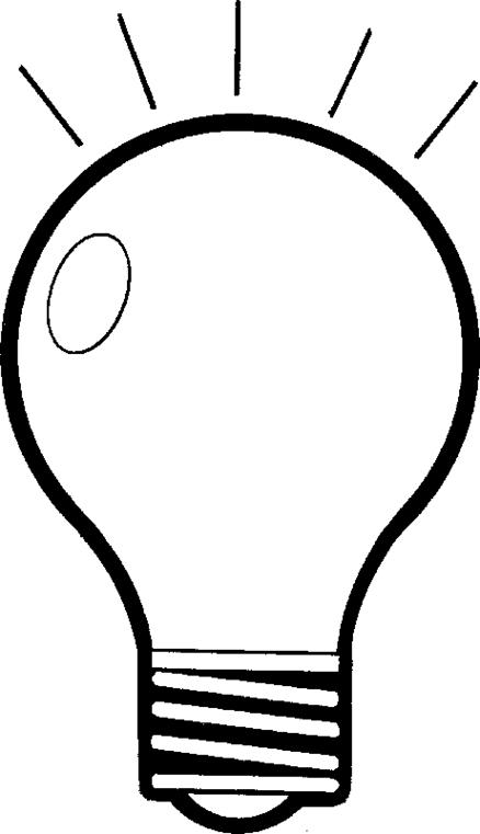Light bulb clip art light bulb clipart fans 2