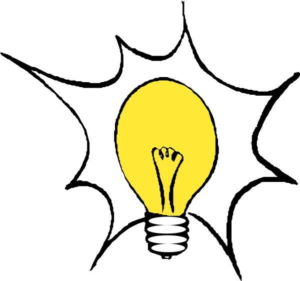 Light bulb clip art lightbulb acoloring 2