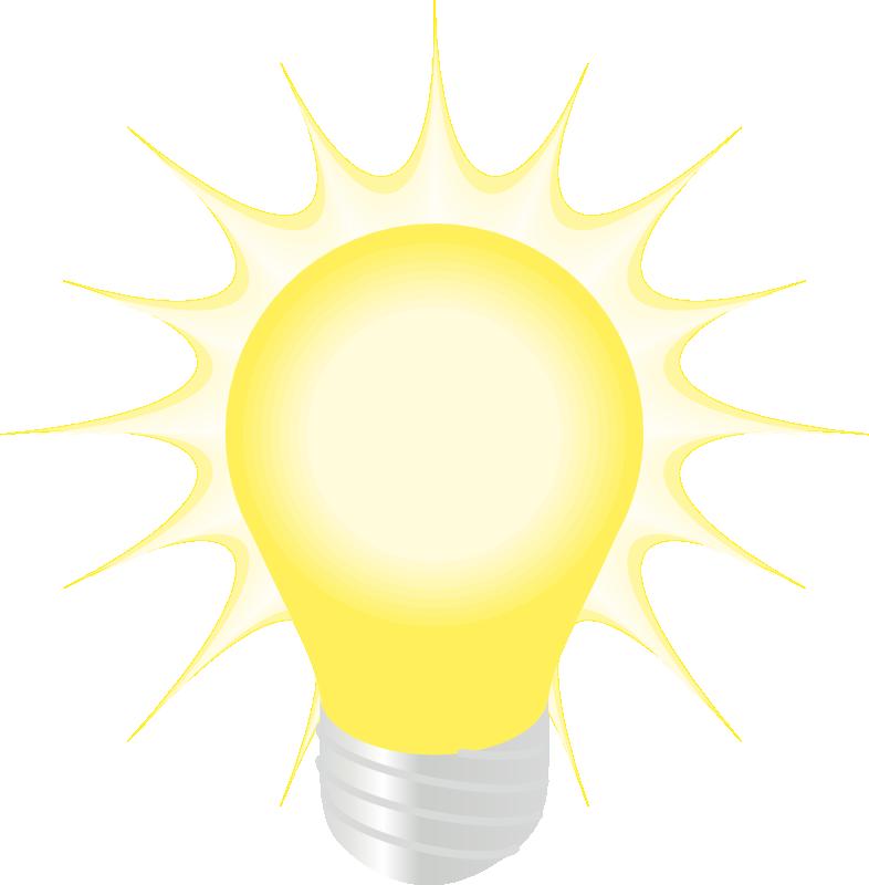 Light bulb lightbulb clip art free vector image 7