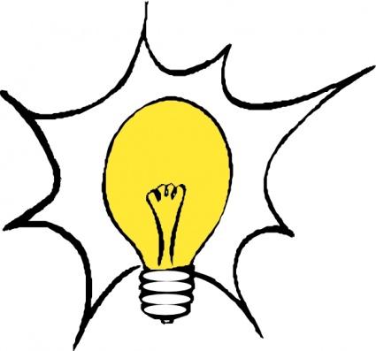 Light bulb lightbulb clip art lights free clipart images