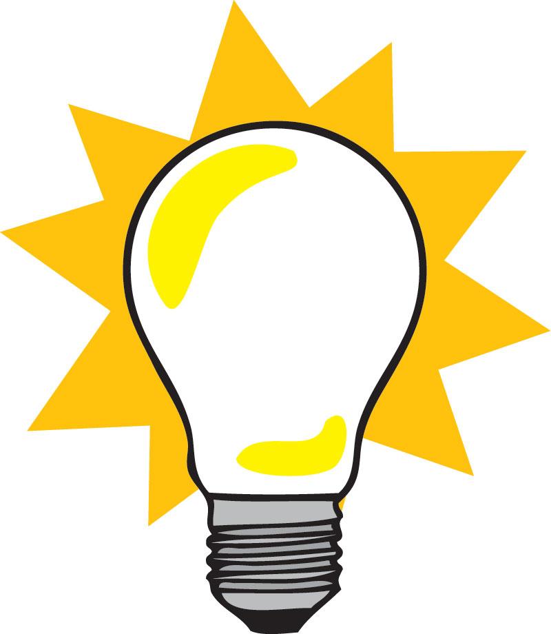 Light bulb lightbulb clipart free images clipartbold