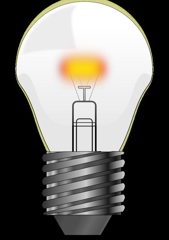 Lightbulb light bulb clip art 3 image