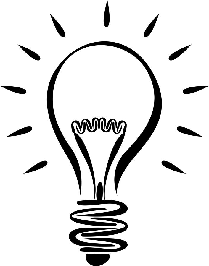 Lightbulb light bulb clip art image 3