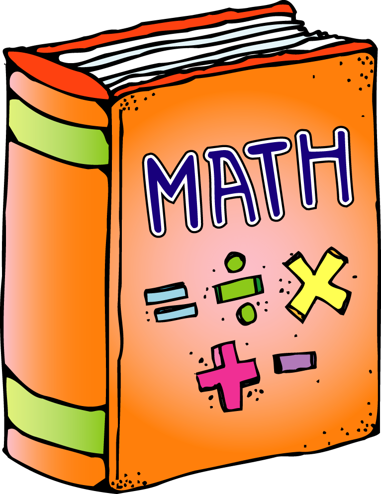 Math clip art fractions free clipart images