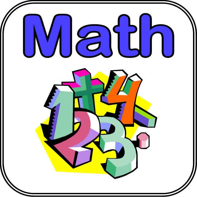 Math clipart free clip art images 4