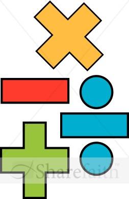 Math symbols images free clipart