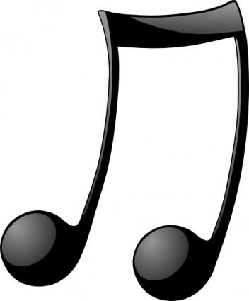 Music note clip art transparent background clipart 2