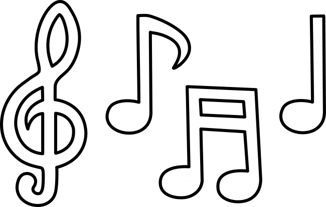 Music notes musical clip art free music note clipart 2