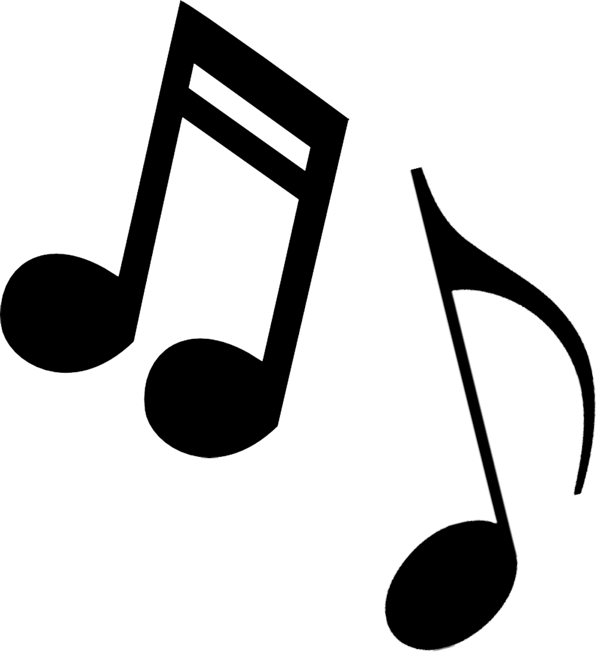 Musical clip art music notes free rf clipart image