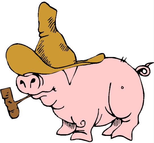 Pig clip art 4