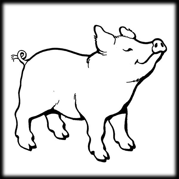 Pig clip art cartoon free clipart images 4