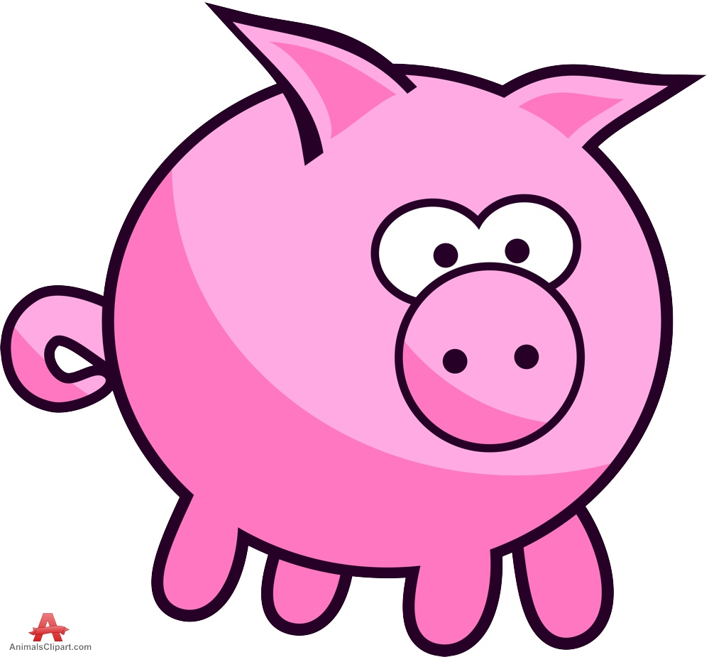 Pig clip art dxf free clipart images