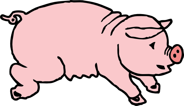 Pig clip art free clipart images 2