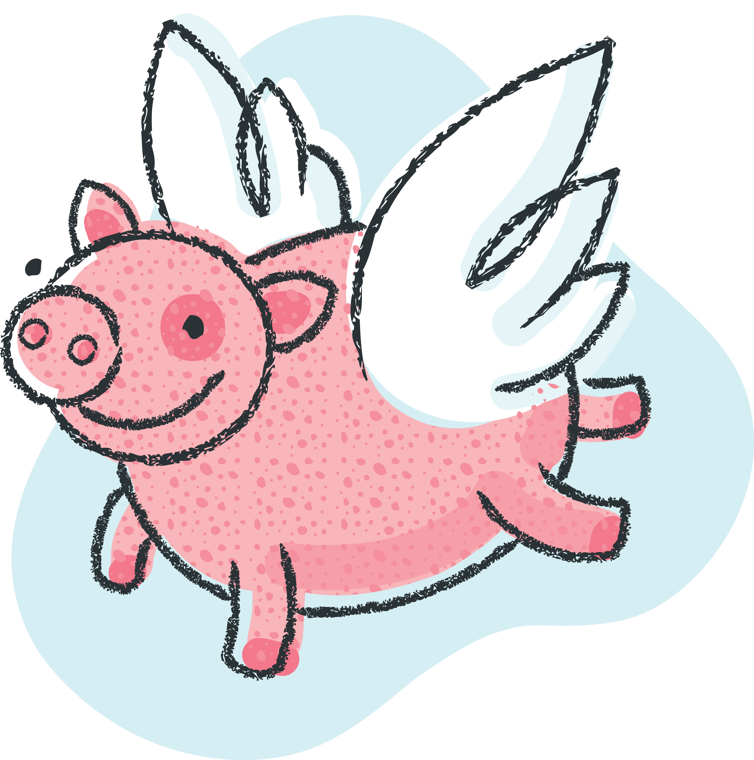 Pig clip art free clipart images 3