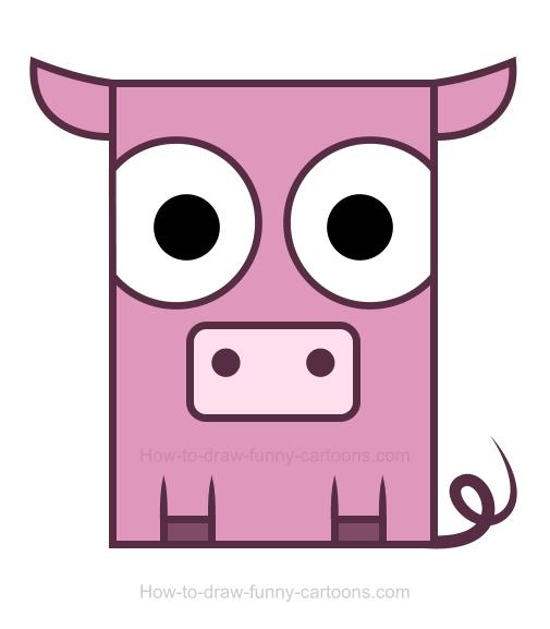 Pig clipart 2