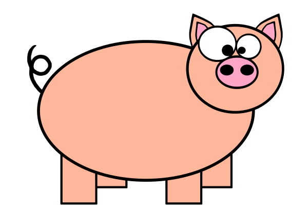 Pig clipart pig animal clip art downloadclipart org