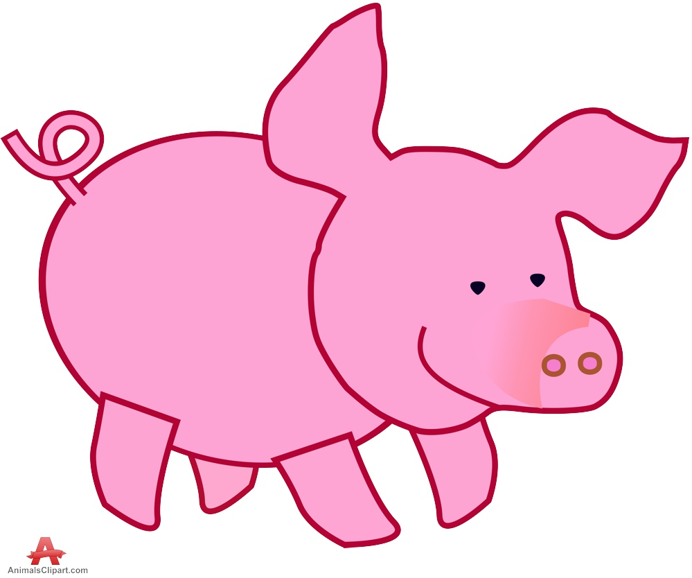 Pigs animals clipart gallery free downloads by