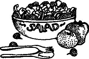 Salad clip art download 2