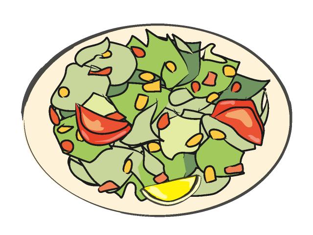 Salad clip art free clipart images 7