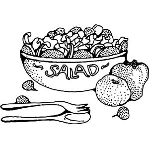 Salad clipart 1