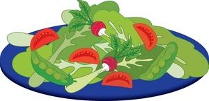 Salad clipart 8