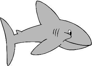 Shark clip art border free clipart images