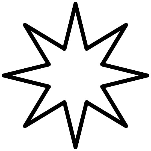 Star outline 1