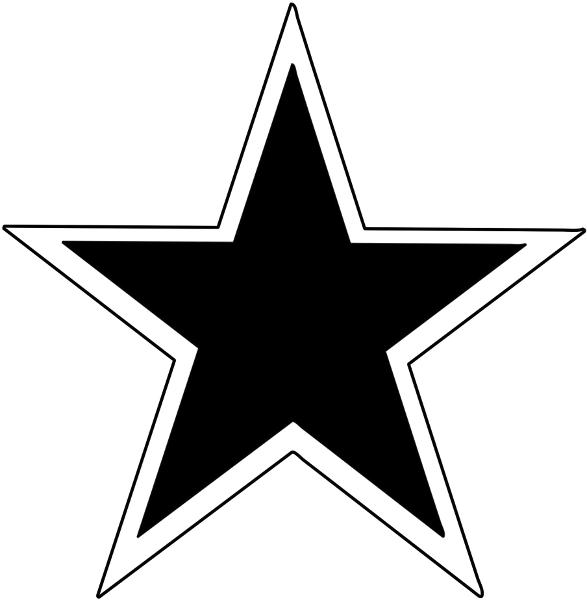 Star outline 3