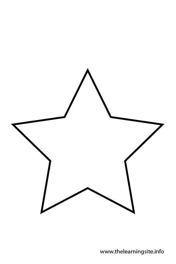 Star outline 4